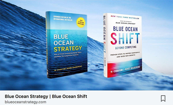 blue ocean strategy 2 linkedin post